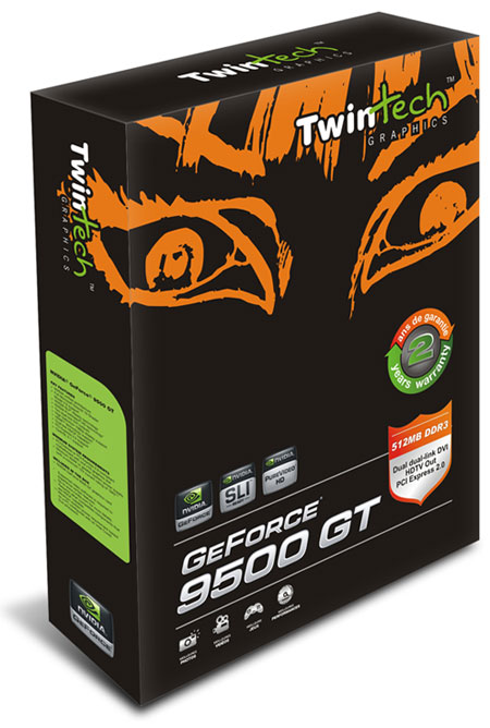 TwinTech GeForce 9500 GT